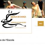 Nova web de l'Escola de Dansa