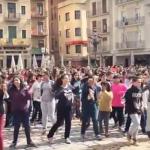 Imatge de la flashmob a Reus 2016