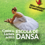 Imatge del díptic de preinscripcions 2016-2017 de l'Escola de Dansa