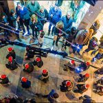 Fotografia de Pep Aguadé del Flashmob nadalenc 2016 a Reus amb l'Escola de Dansa del Centre de Lectura