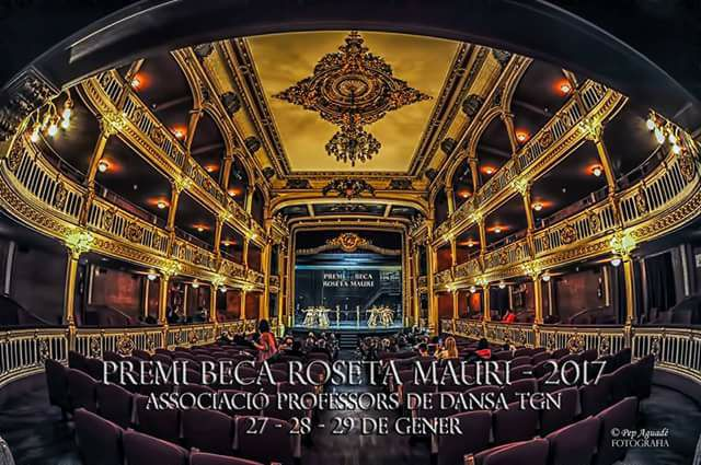 Premi beca Roseta Mauri, imatge del Teatre Bartrina