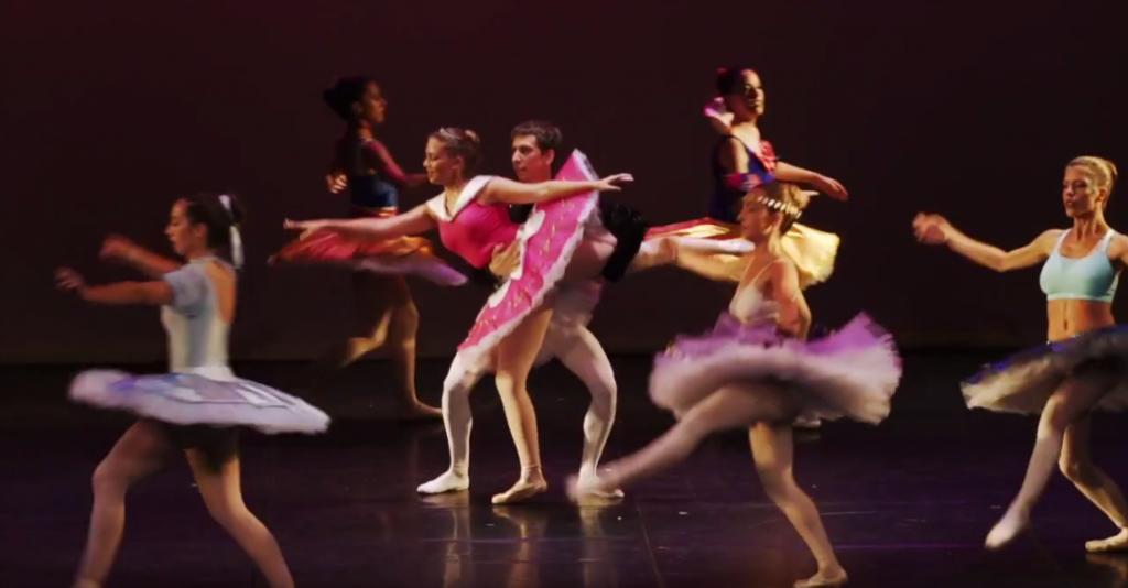 Imatge del Festival de fi de curs 2017 de l'Escola de Dansa del CdL