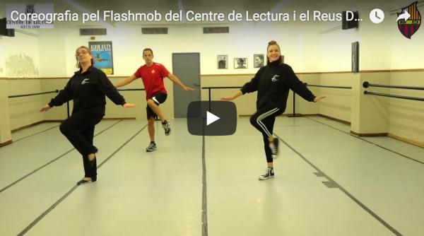 Imatge del vídeo de Youtube sobre la flashmob
