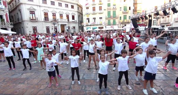 Imatge del vídeo de la Flashmob 2018